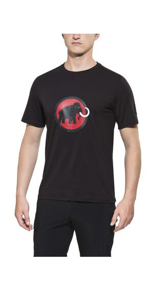 Mammut Logo t-shirt Heren zwart